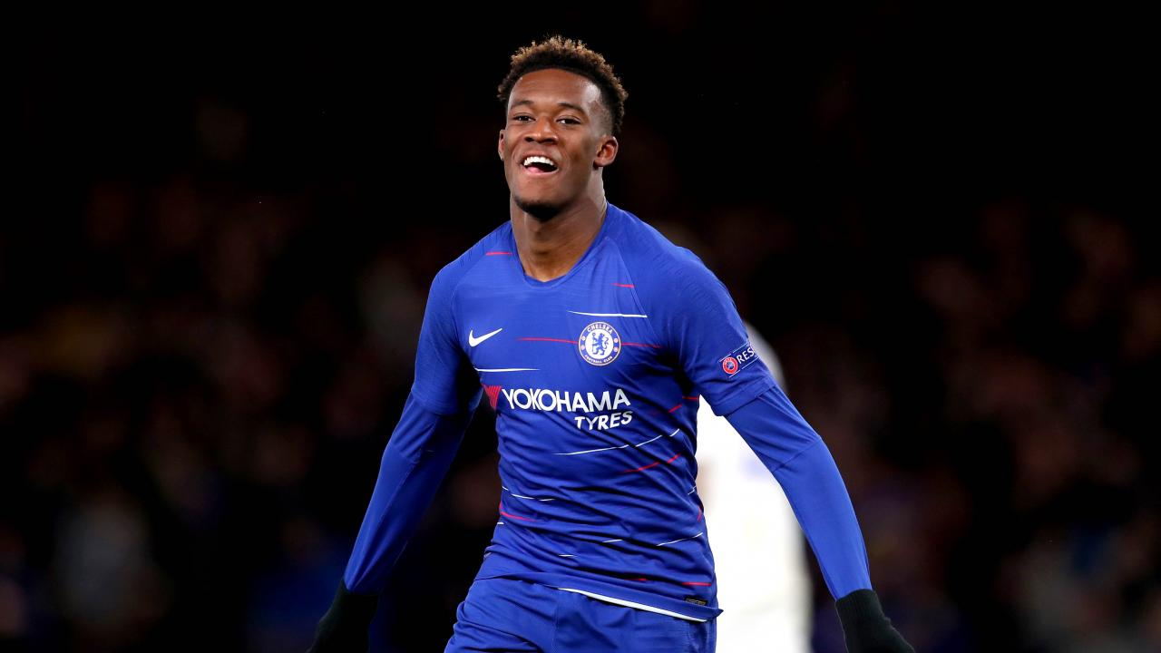 Callum Hudson-Odoi England call-up