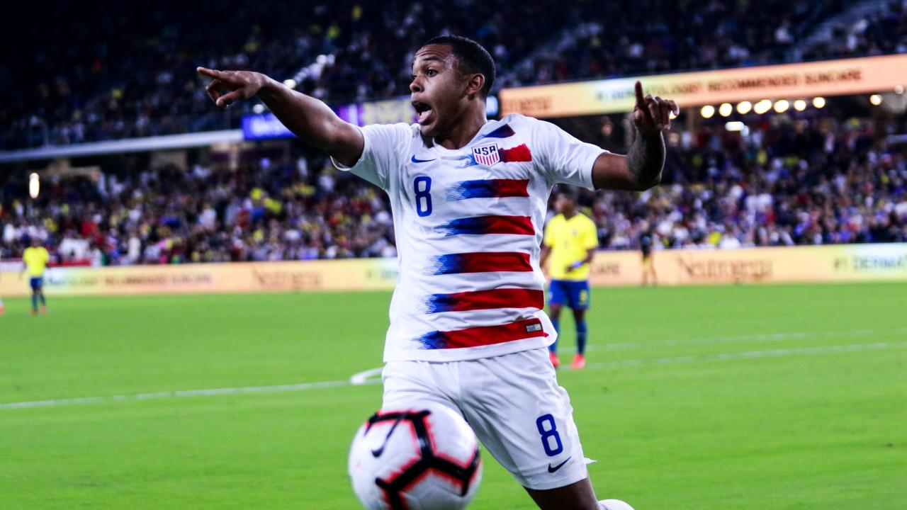 Weston McKennie interview