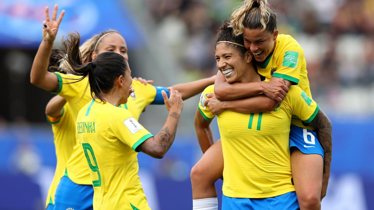 Brazil vs Jamaica Women's World Cup highlights
