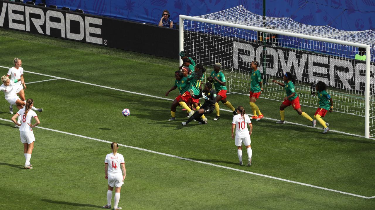 England indirect free kick