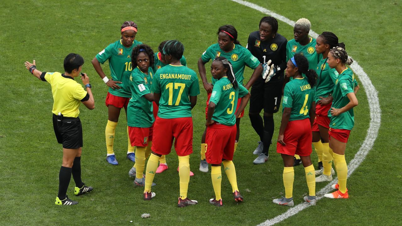 Cameroon women's soccer
