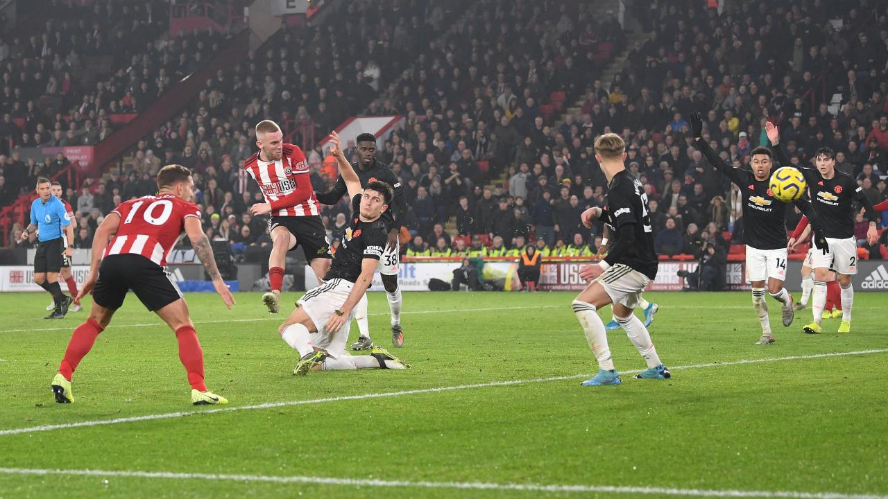 Sheffield United vs Man United 2019 Premier League highlights
