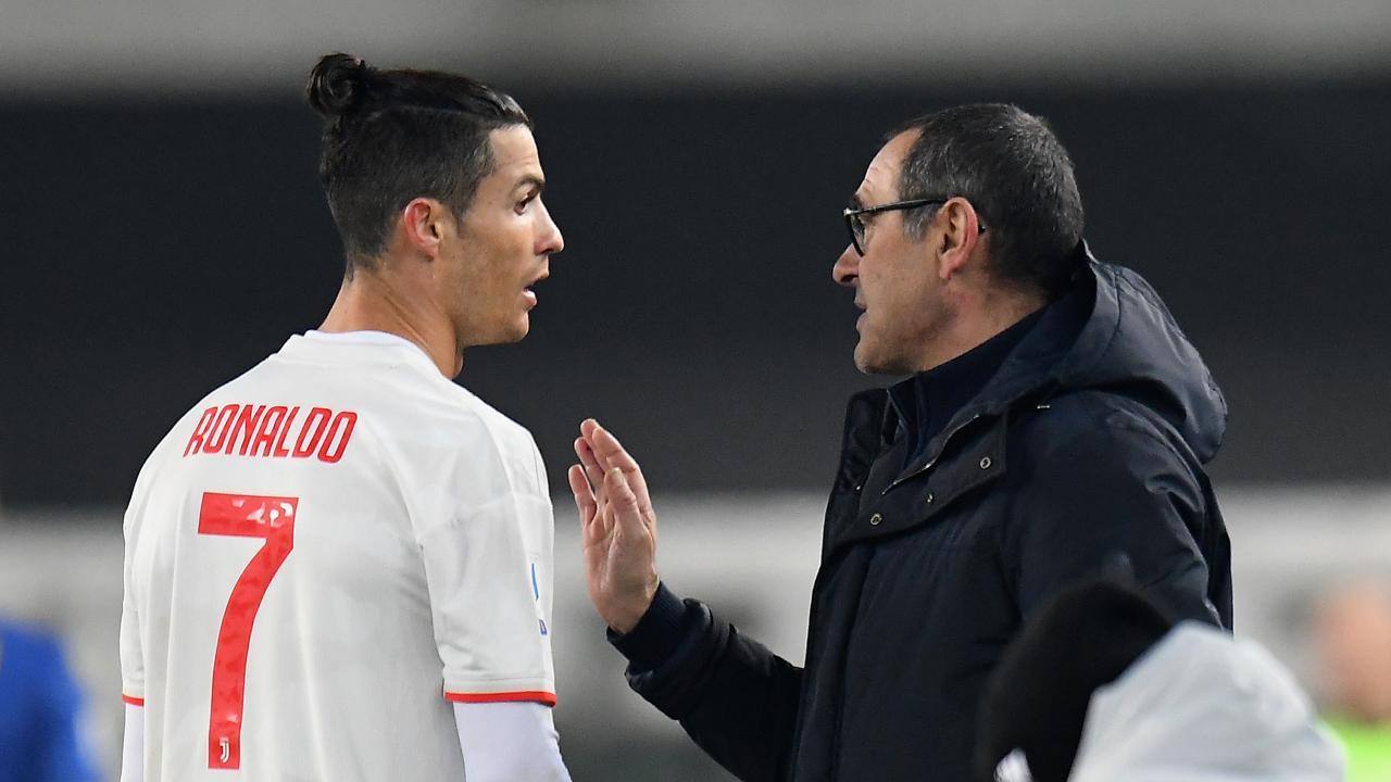 Maurizio Sarri vs Cristiano Ronaldo
