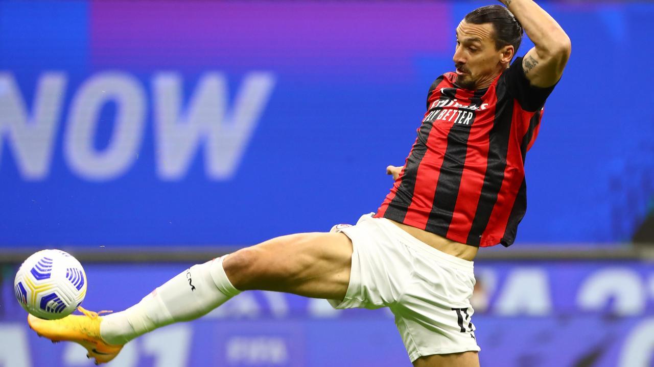 Zlatan Ibrahimovic goals vs Roma
