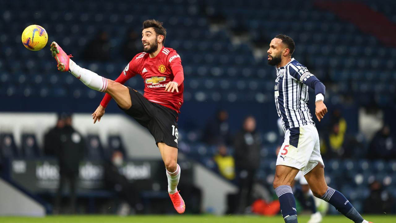 Bruno Fernandes goal vs West Brom