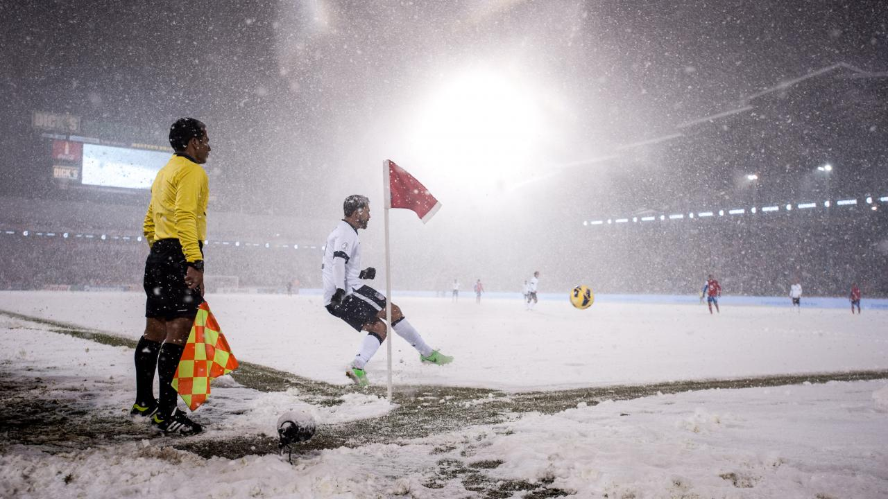 worst weather football games