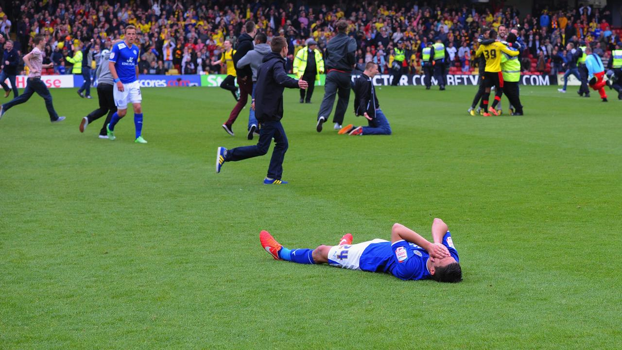 Watford vs Leicester 2013 playoff