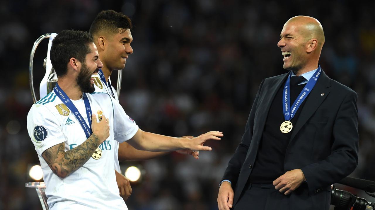 Zinedine Zidane returns