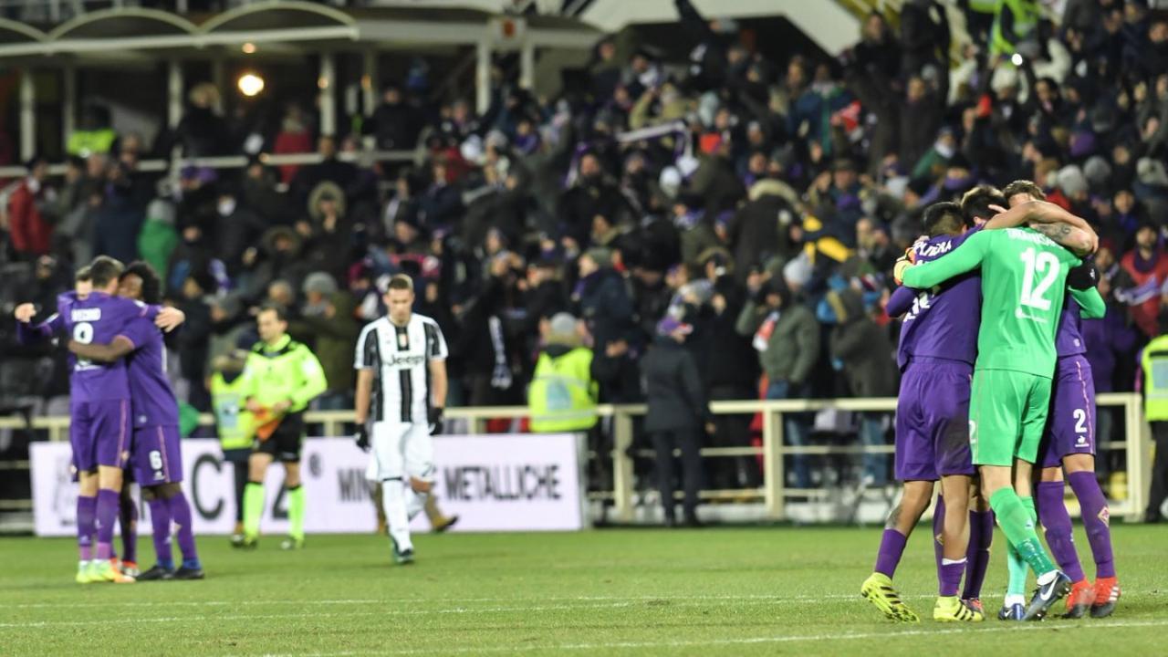 Fiorentina defeat Juventus, 2-1