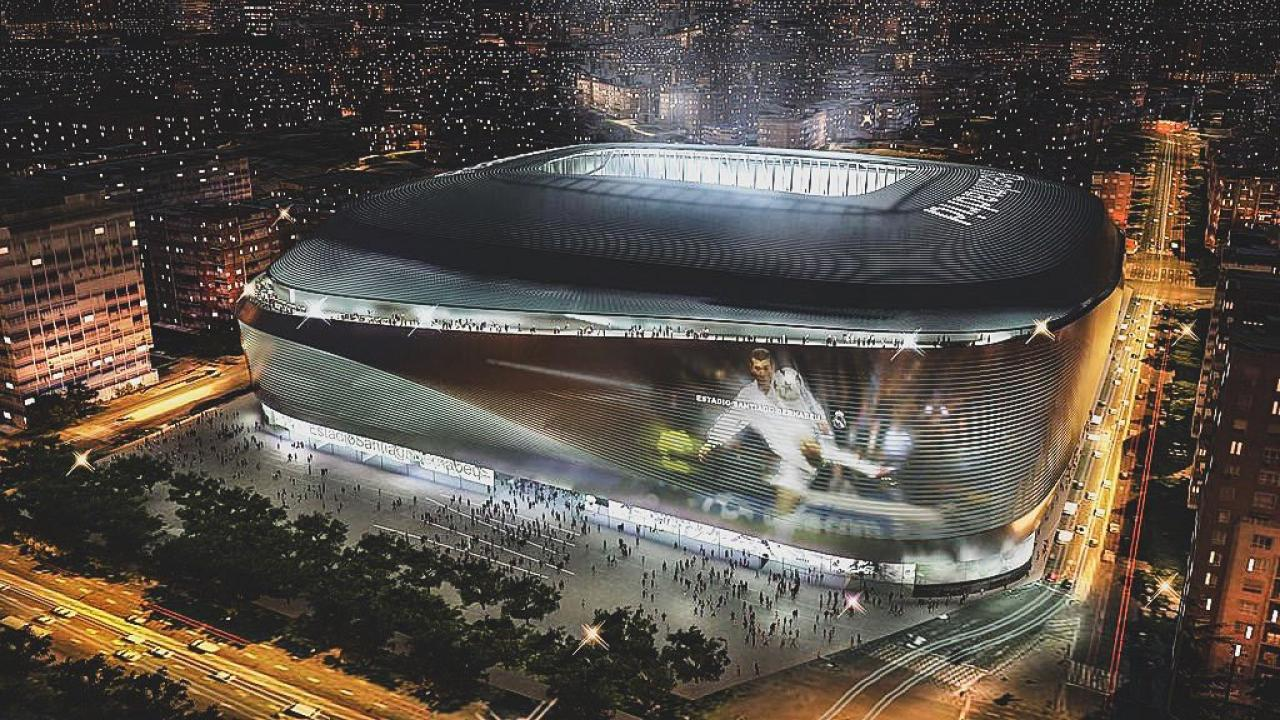 Real Madrid stadium renovation