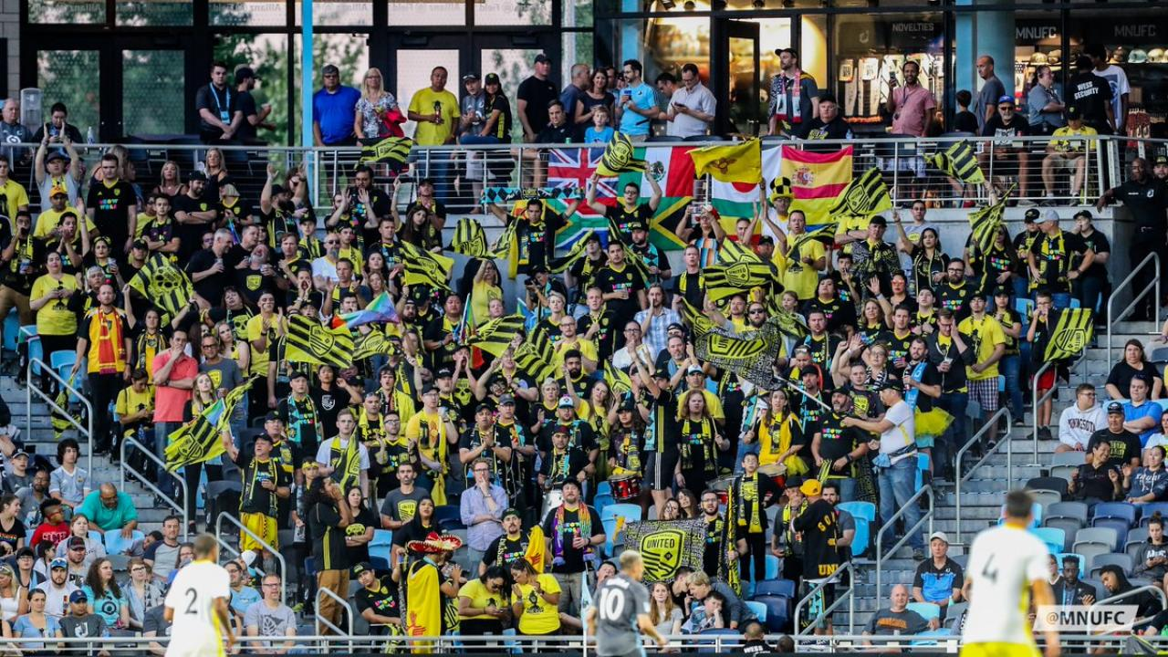 US Open Cup away support