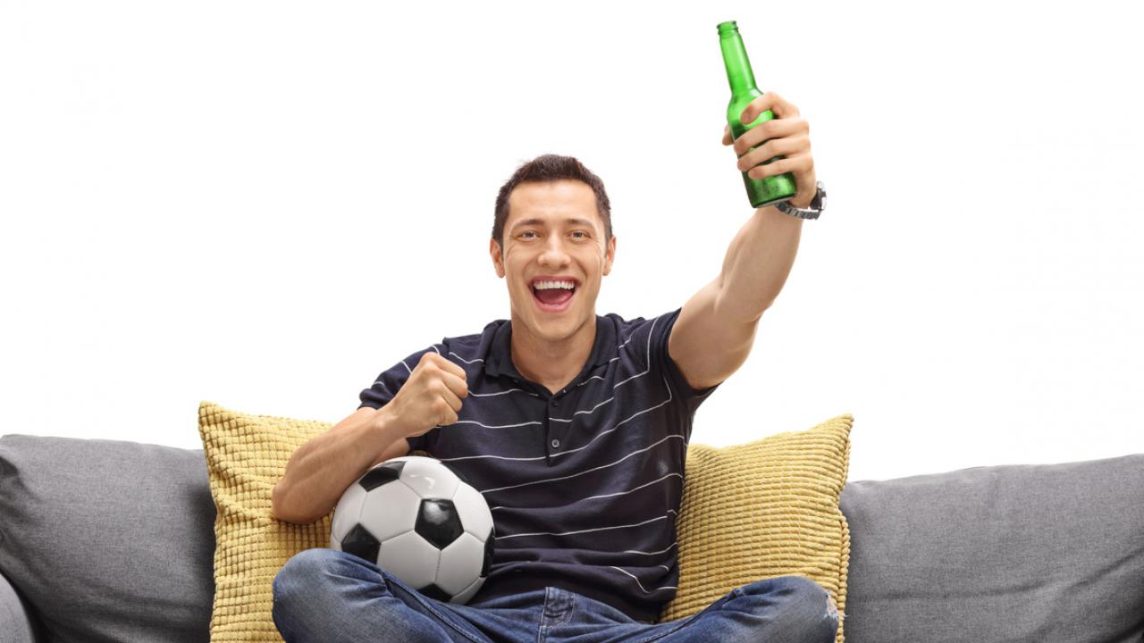 soccer beer