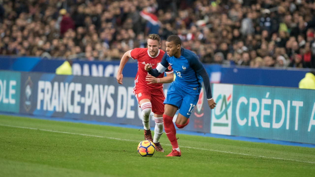 how fast is kylian mbappe
