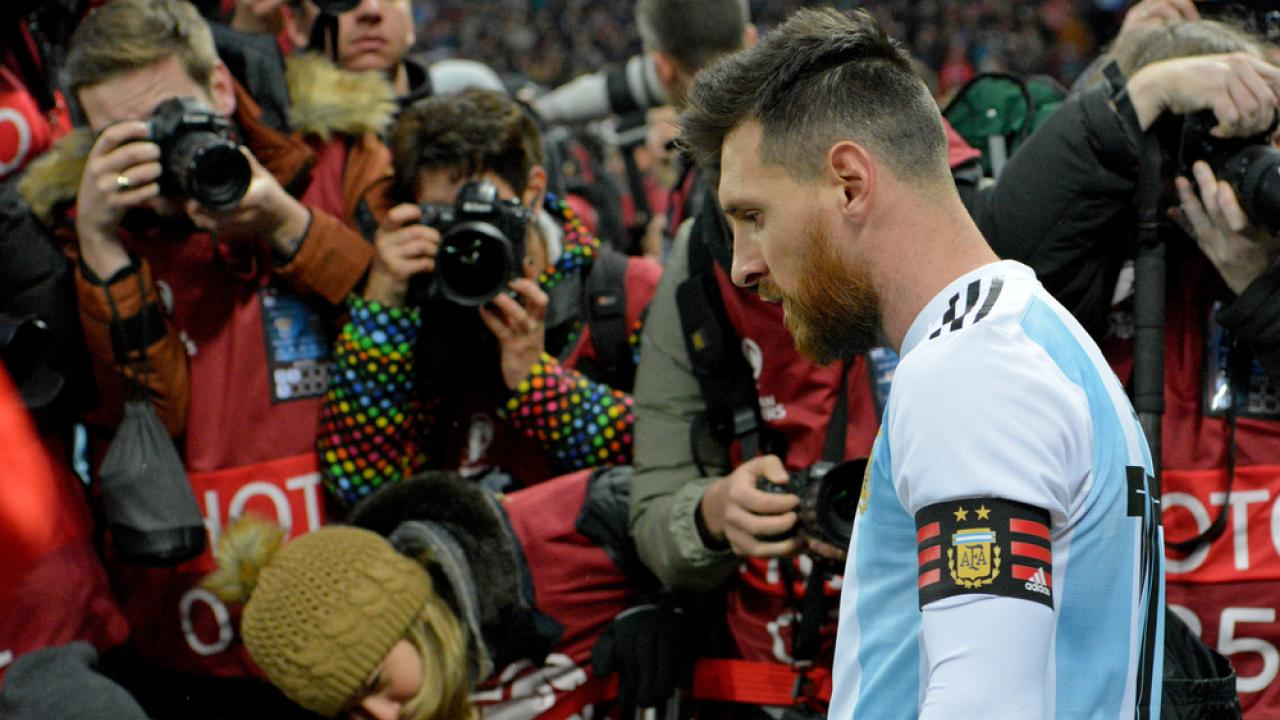Lionel Messi international retirement