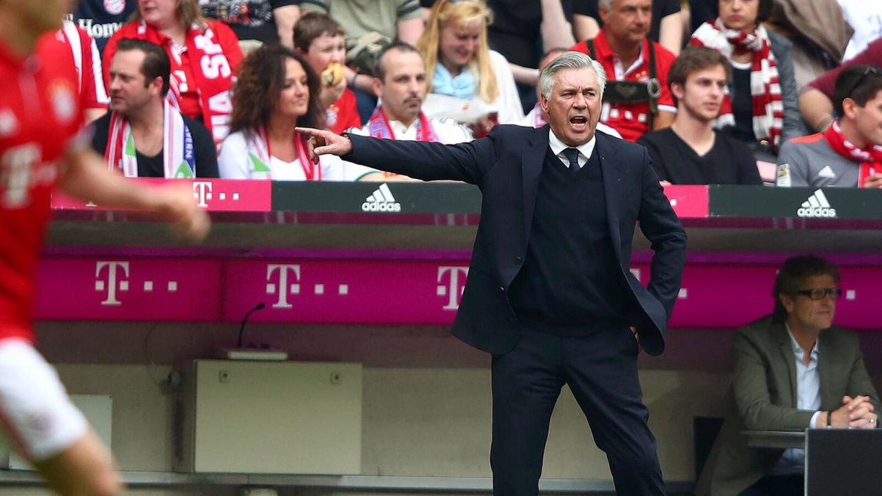 Carlo Ancelotti Before Match Against Real Madrid