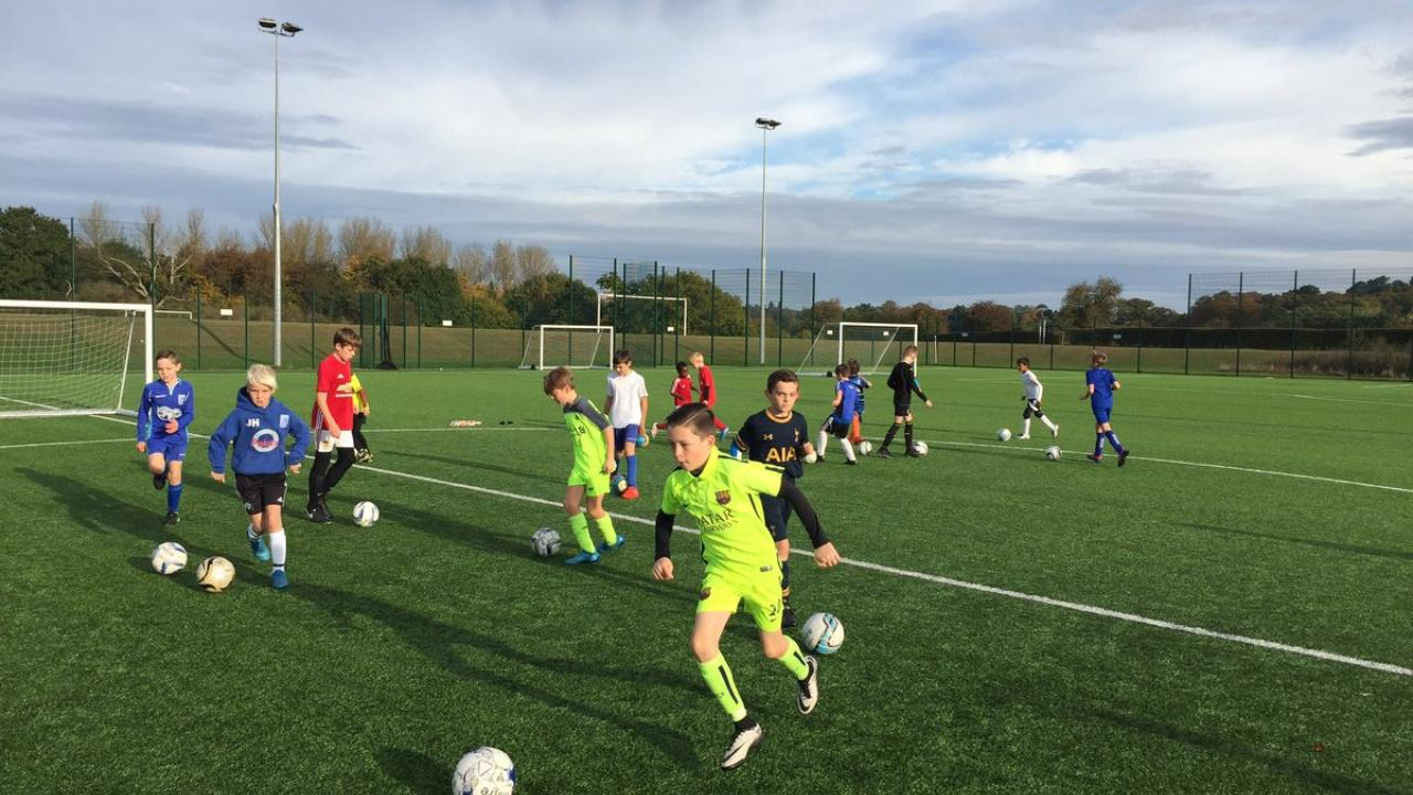 Soccer Youth Coaching Possession Drill