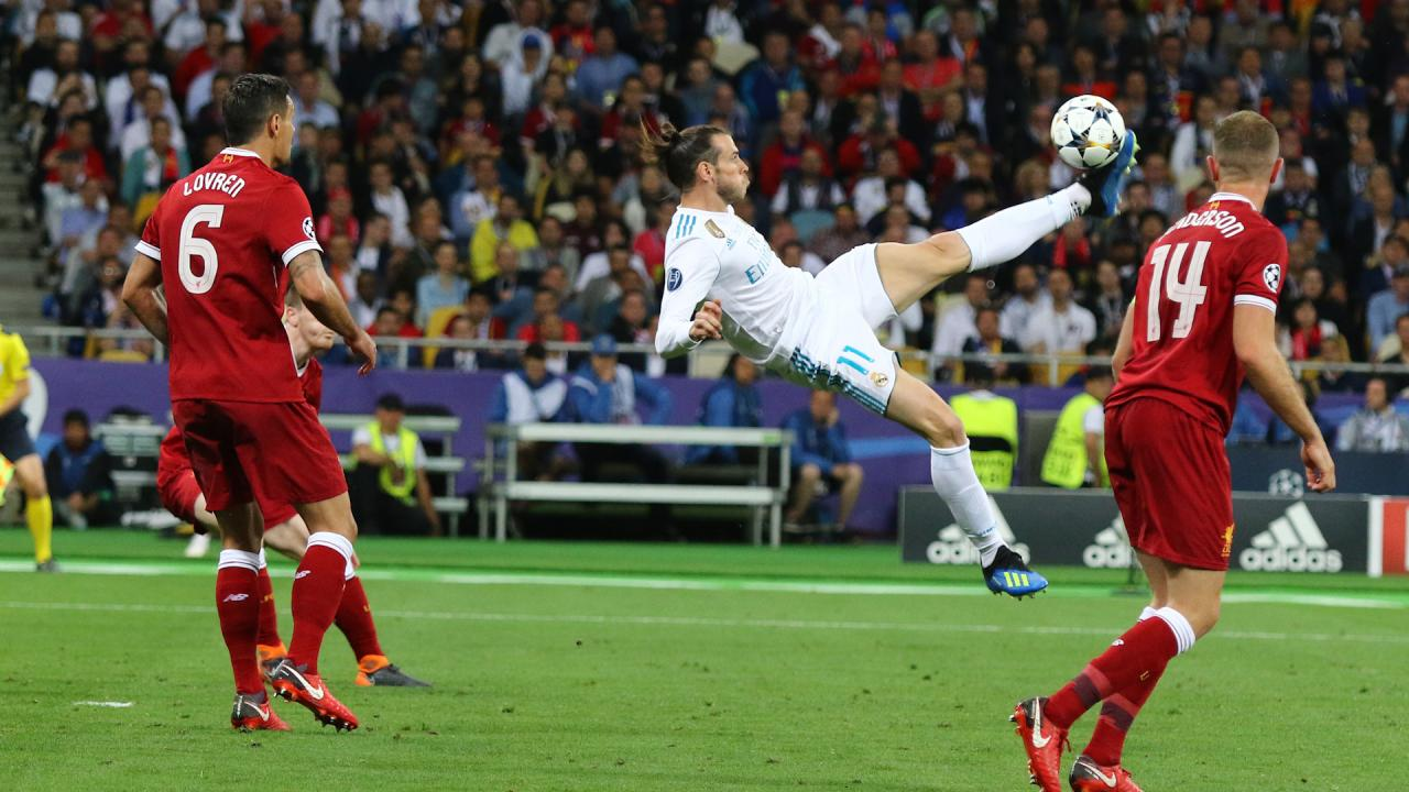 Gareth Bale Bicycle Kick The Best