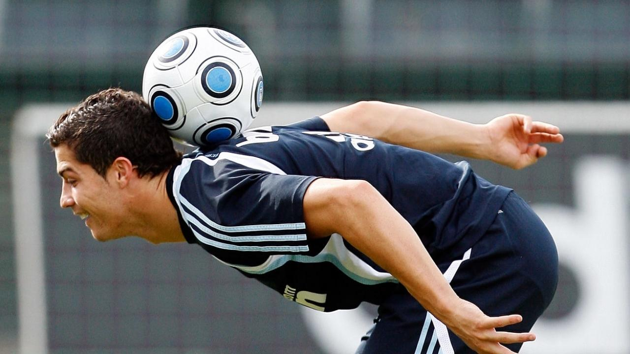 Cristiano Ronaldo Has Some Sweet Freestyle Moves