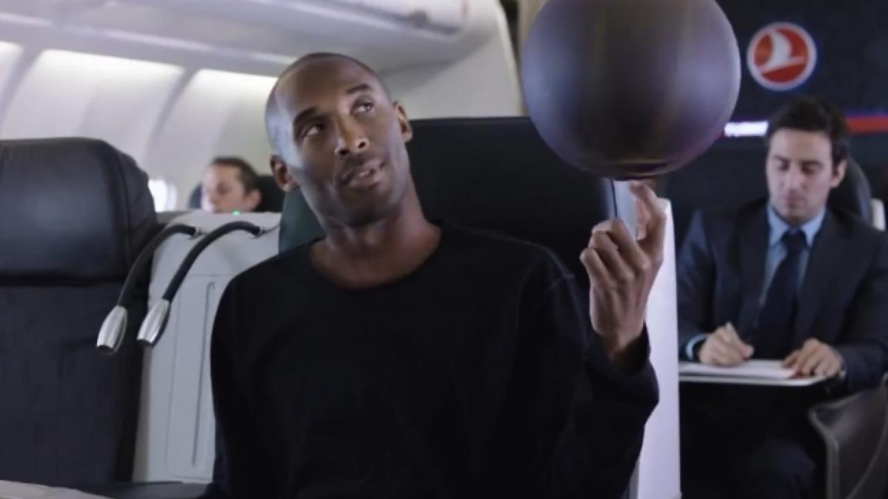 Kobe Bryant In Commercial for Turkish Airlines