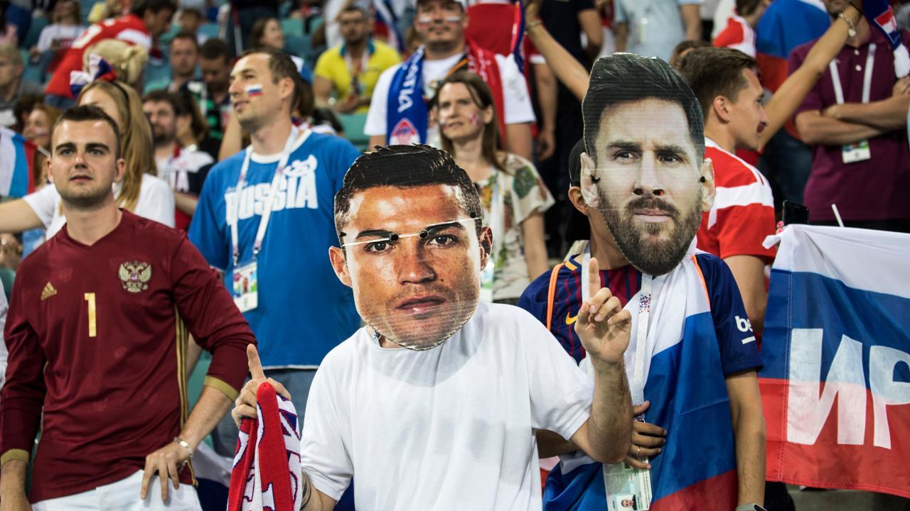 Cristiano Ronaldo and Lionel Messi?