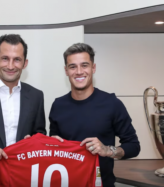 Coutinho On Loan To Bayern Munich From Barcelona