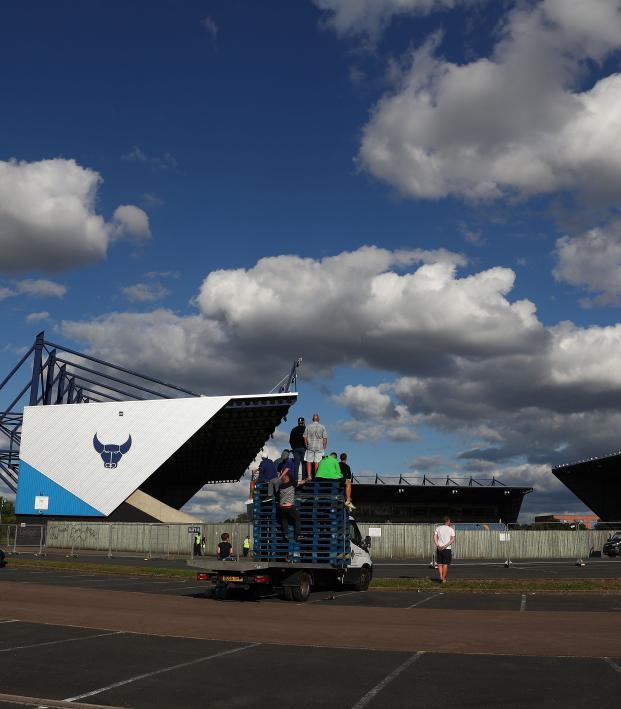 Portsmouth fans