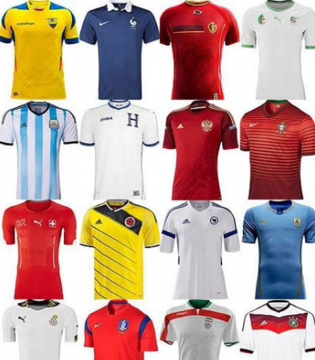 All 32 World Cup kits