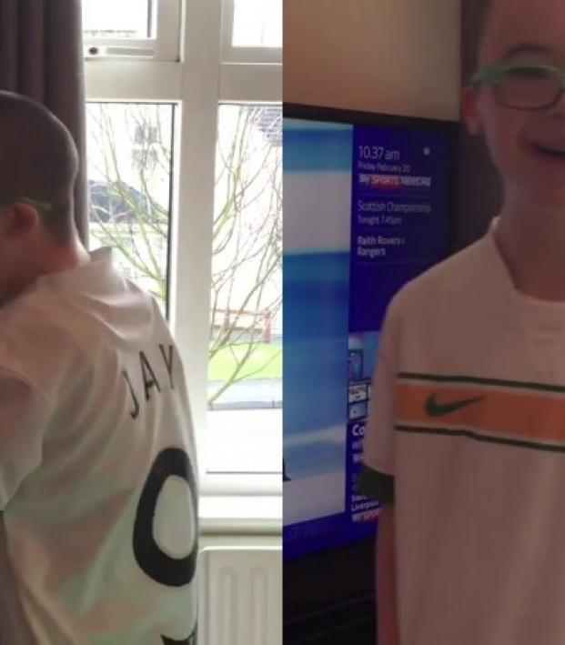 Jay-Beatty-goal-of-the-month-celtic-georgios-samaras-goal-awesome-Down's-Syndrome-boy-biggest fan