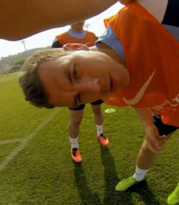 Manchester City And Their GoPro