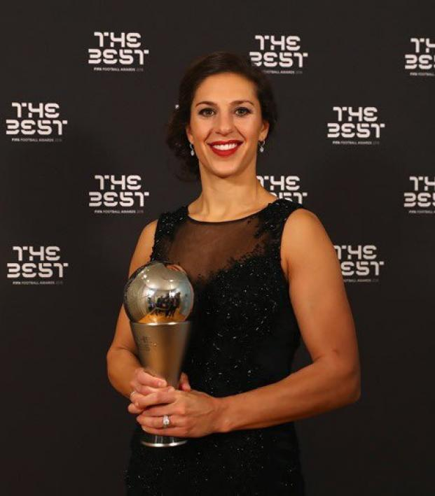 Carli Lloyd Wins FIFA Player of the Year