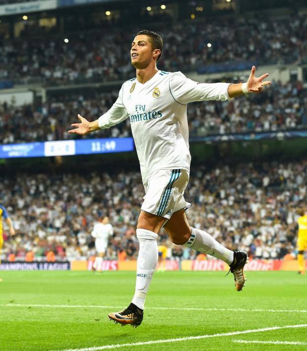 Cristiano Ronaldo Champions League Goal