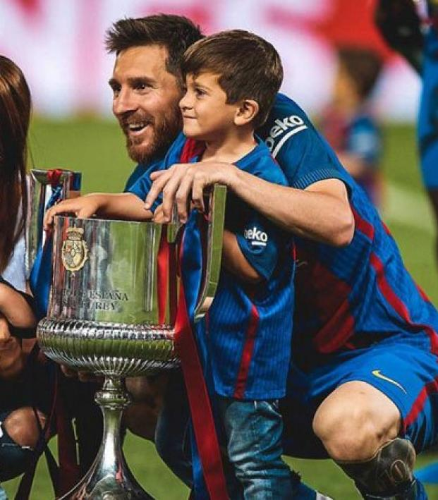 Lionel Messi charity donation