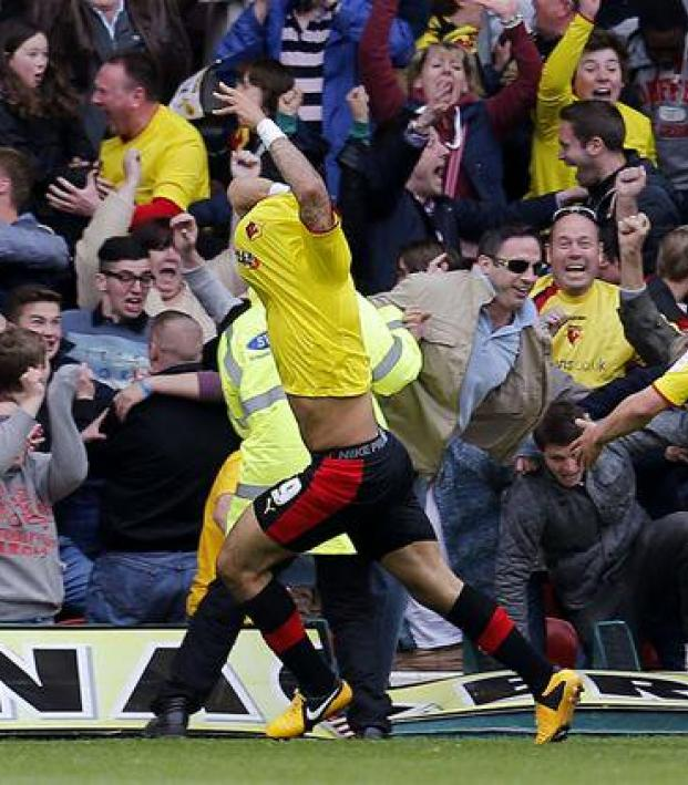 Watford vs Leicester City 2013 Championship playoff