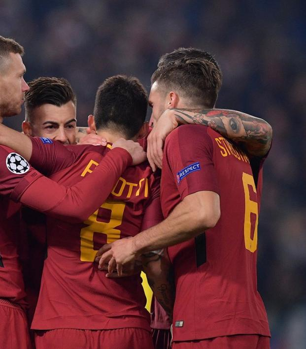 Roma advance to Champions League Round of 16