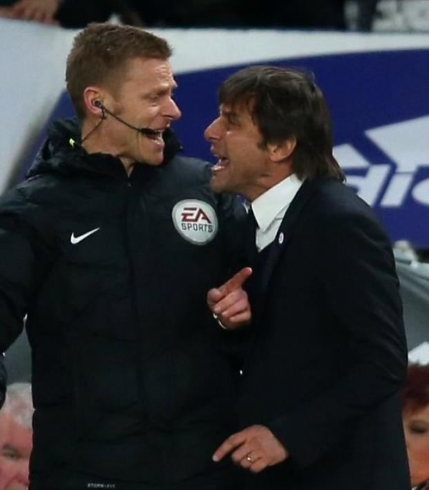 Jose Mourinho Antonio Conte fight