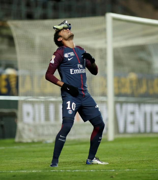 Neymar celebration