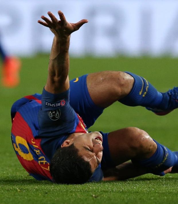 Should you wear shin guards? Luis Suarez says yes.