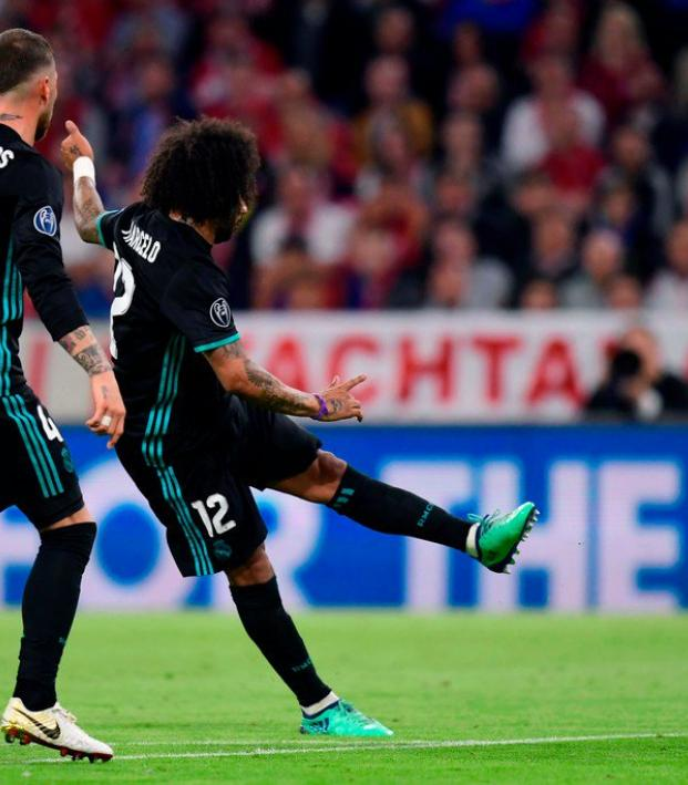 Marcelo goal vs Bayern Munich