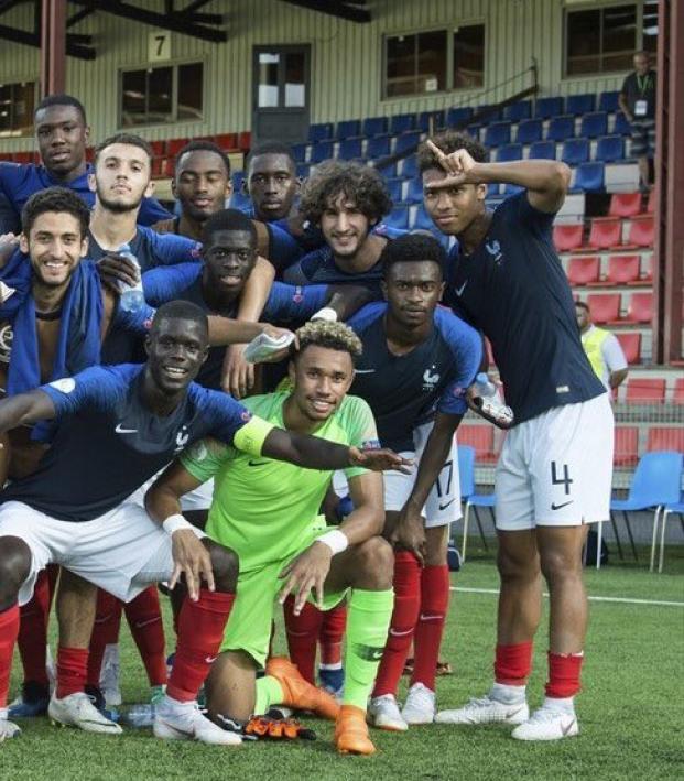France U19 Squad