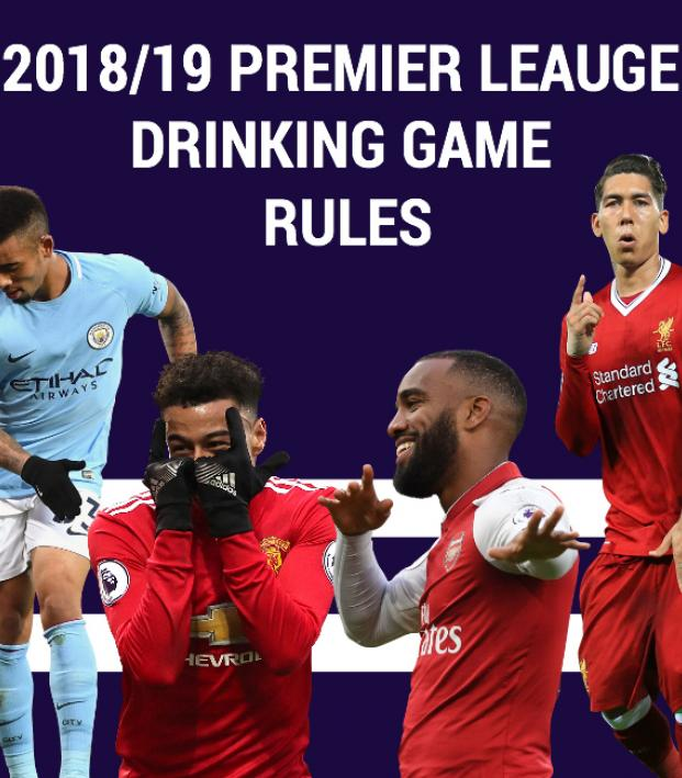 Premier League Drinking Game Rules