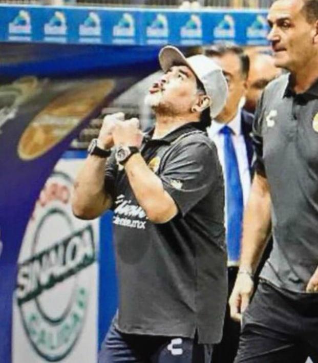 Diego Maradona Dorados record