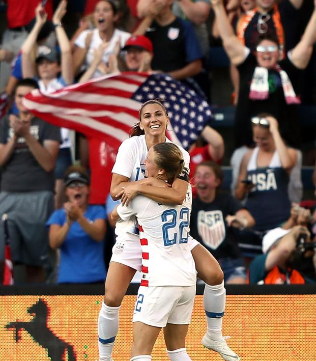 2019 USWNT Schedule