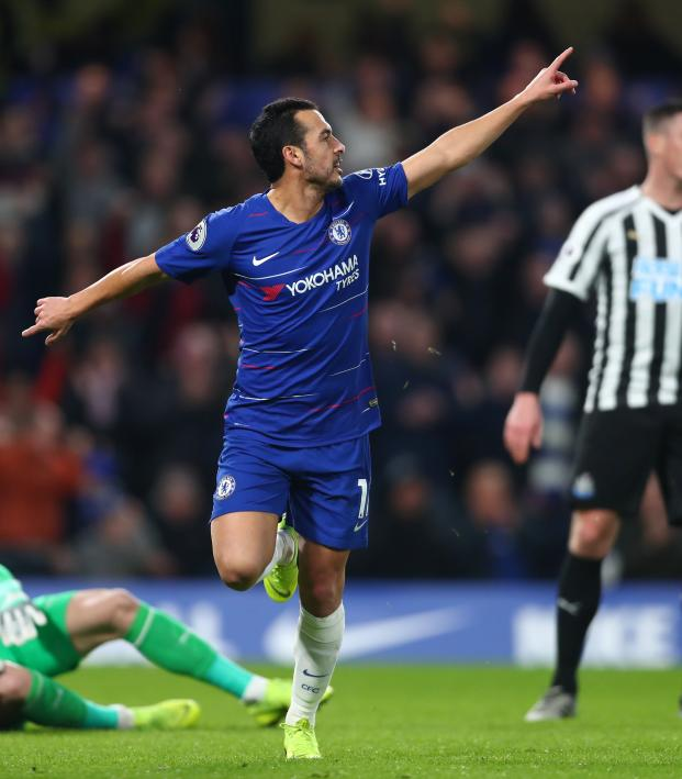Pedro Goal vs Newcastle