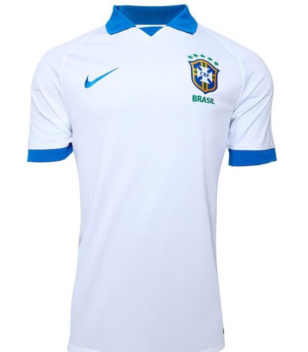 White Brazil Jersey 2019