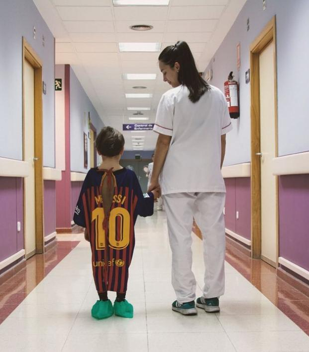 Football Shirt Hospital Gowns