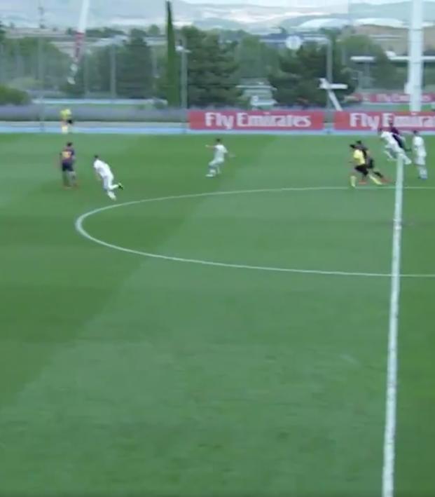 Antonio Blanco goal vs Barcelona