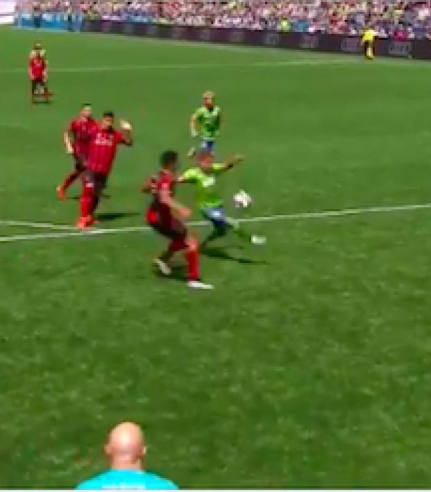 Raul Ruidiaz goal vs Atlanta