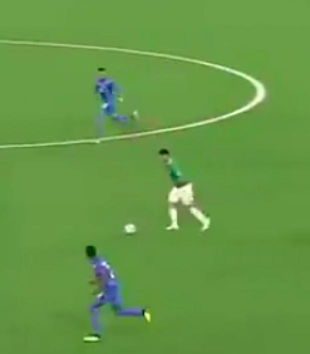 Francisco Venegas Mexico goal