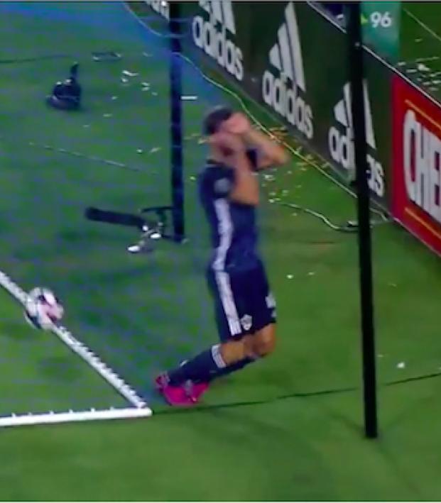 LA Galaxy own goal