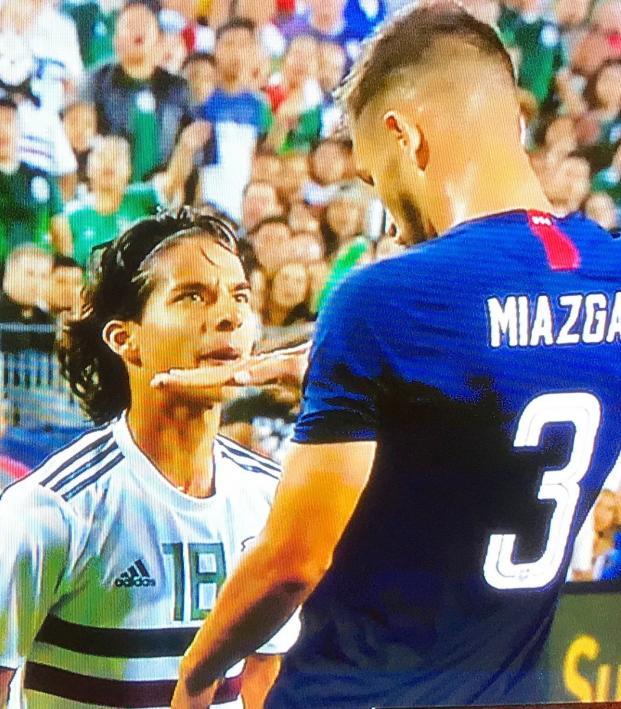 Matt Miazga trolls Diego Lainez